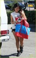 Brenda Song heads back to her car after stopping at Opening Ceremony on Melrose in Los Angeles on Mo - brenda-song photo