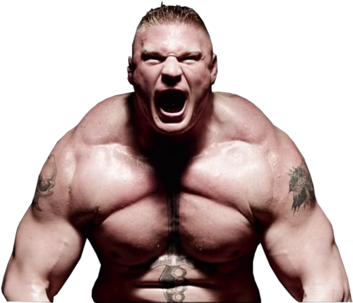 WWE wallpaper containing a six pack and a hunk called Brock Lesnar