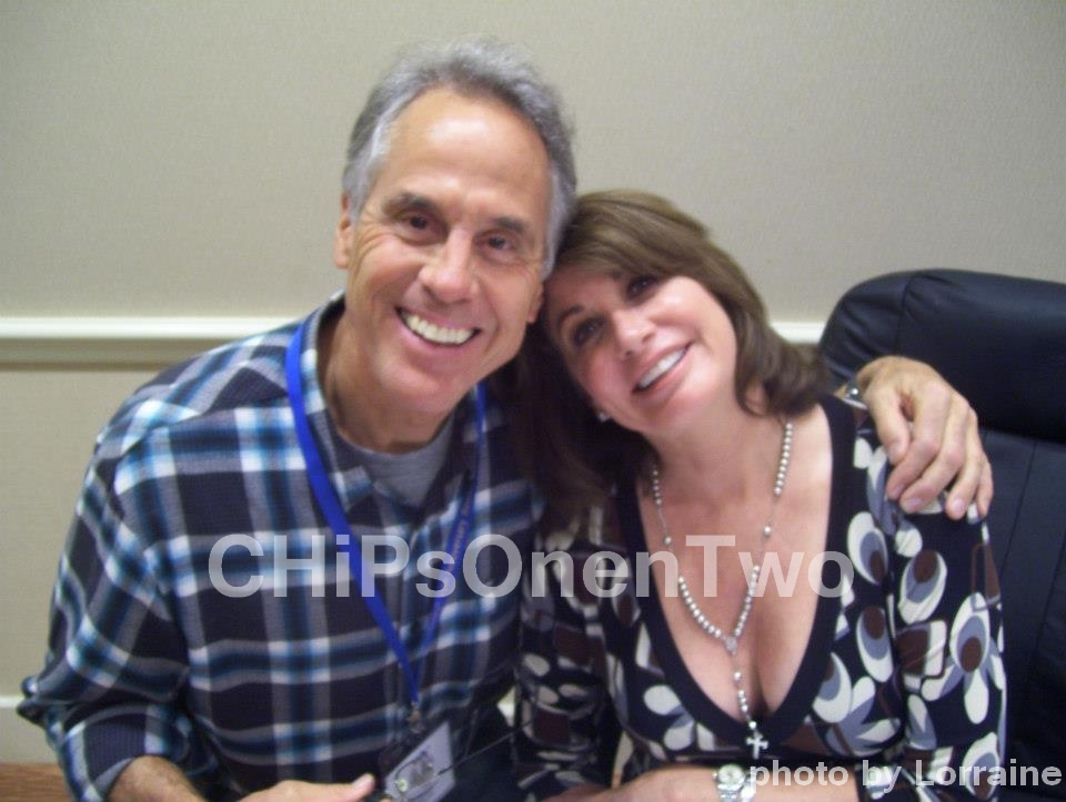 Brodie Greer & Brianne Leary from The ChiPs reunion