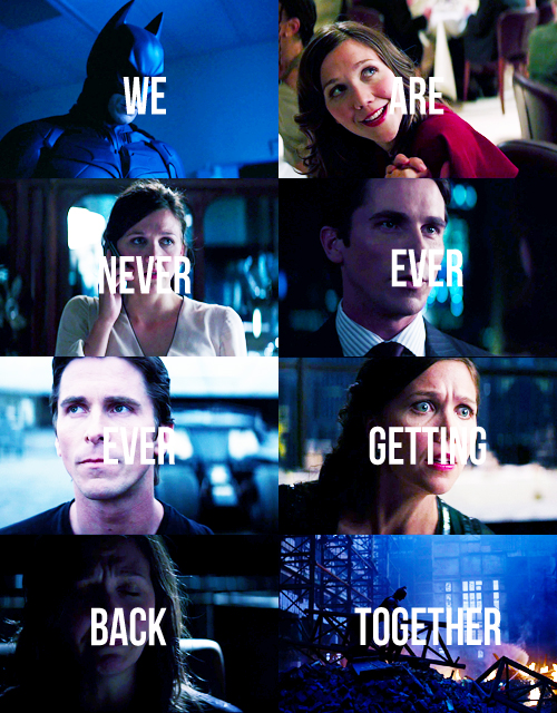 Bruce & Rachel - We Are Never Ever Getting Back Together ♥