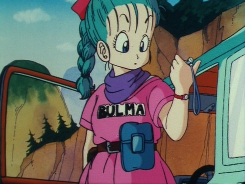 Bulma's first appearance (Anime)
