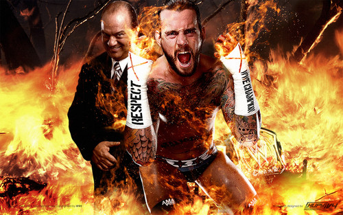 CM Punk and Paul Heyman