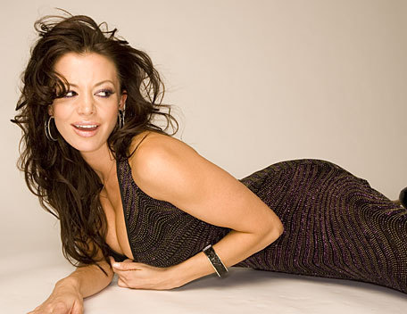 Candice Michelle wallpaper entitled Candice Michelle Photoshoot Flashback
