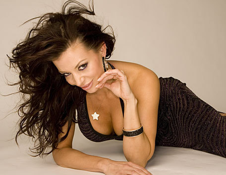 Candice Michelle achtergrond probably with skin titled Candice Michelle Photoshoot Flashback