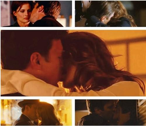 Caskett Kiss Moments