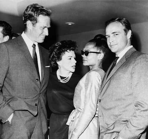 Charlton Heston, Judy Garland, Eartha Kitt and Marlon Brando