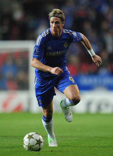 Fernando Torres wolpeyper with a putbol ball called Chelsea - FC Nordsjaelland, 02.10.2012, Champions League