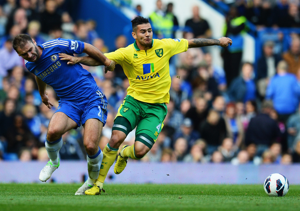 Two Players Sent Off For Dives For Chelsea Vs Norwich City