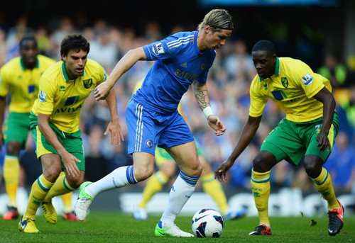 チェルシーFC 壁紙 with a サッカー ball called Chelsea - Norwich, 06.10.2012, Premier League