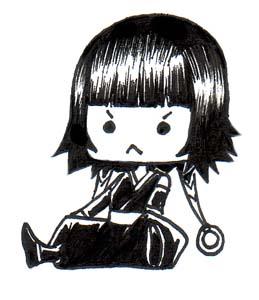Angry Chibi Soi Fon