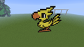 Chocobo! Part 2! - minecraft-pixel-art fan art