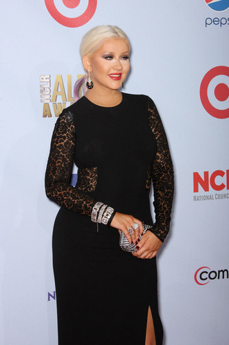 Christina Aguilera at the NCLR ALMA Awards,16 september 2012