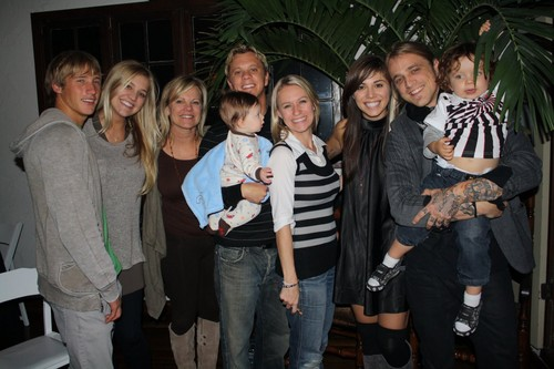 Christina and John's family