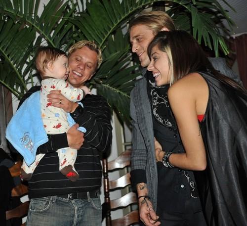 Christina and John's family