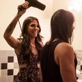 Christina doing Elmo's hair - christina-perri photo