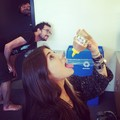 Christina eating  honey - christina-perri photo