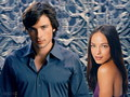 smallville - Clark & Lana wallpaper