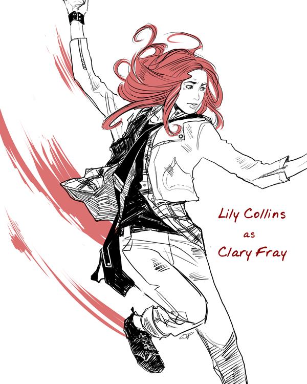 Clary - Clary Fray Fan Art (32373939) - Fanpop