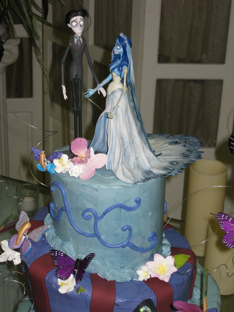 Wedding Cake In Corpse Bride Movie