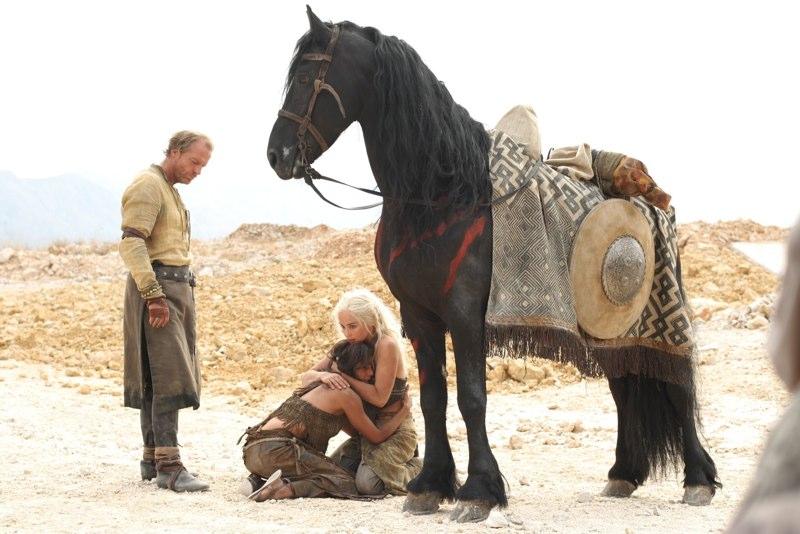 Jorah, Daenerys & Irri