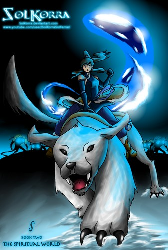 Dangerous pole Korra and Naga season 2 سے طرف کی SolKorra