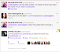 Daniel Gillies Replied To Me!!!!<33 - chair-family photo