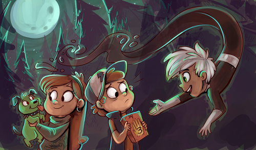 Danny Phantom hình nền entitled Danny Phantom/ Gravity Falls