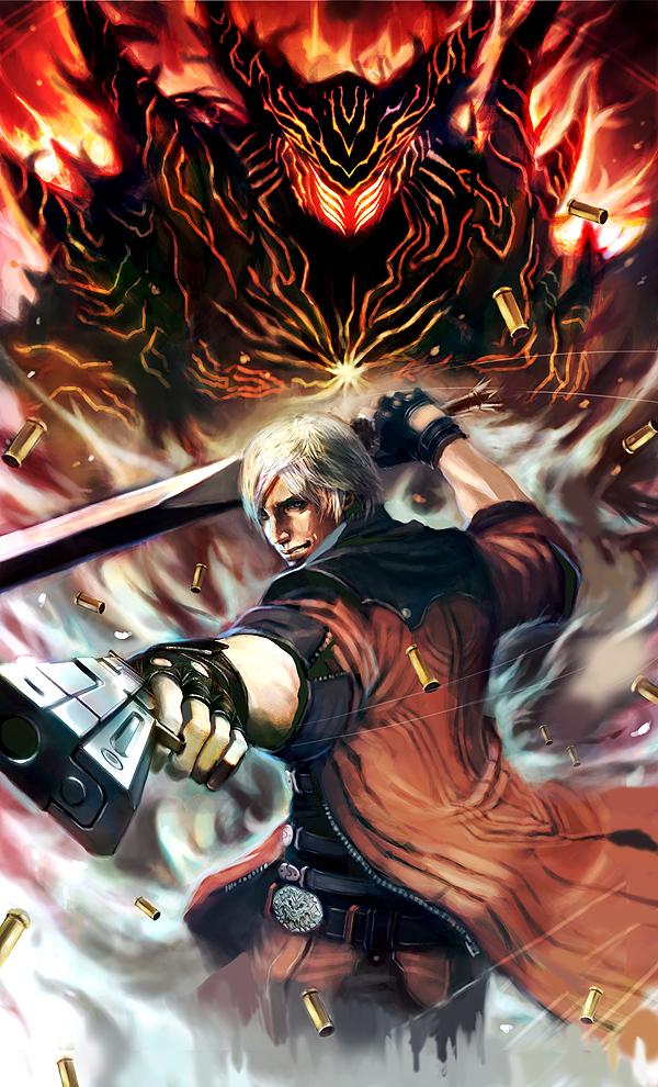 Dante Devil May Cry 4 Fan Art 32351526 Fanpop