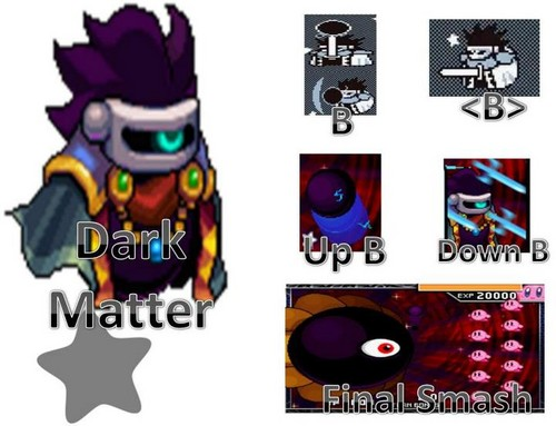 Dark Matter Possible Moveset