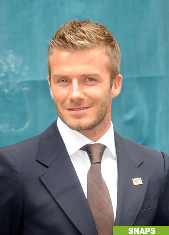 David Beckham smile