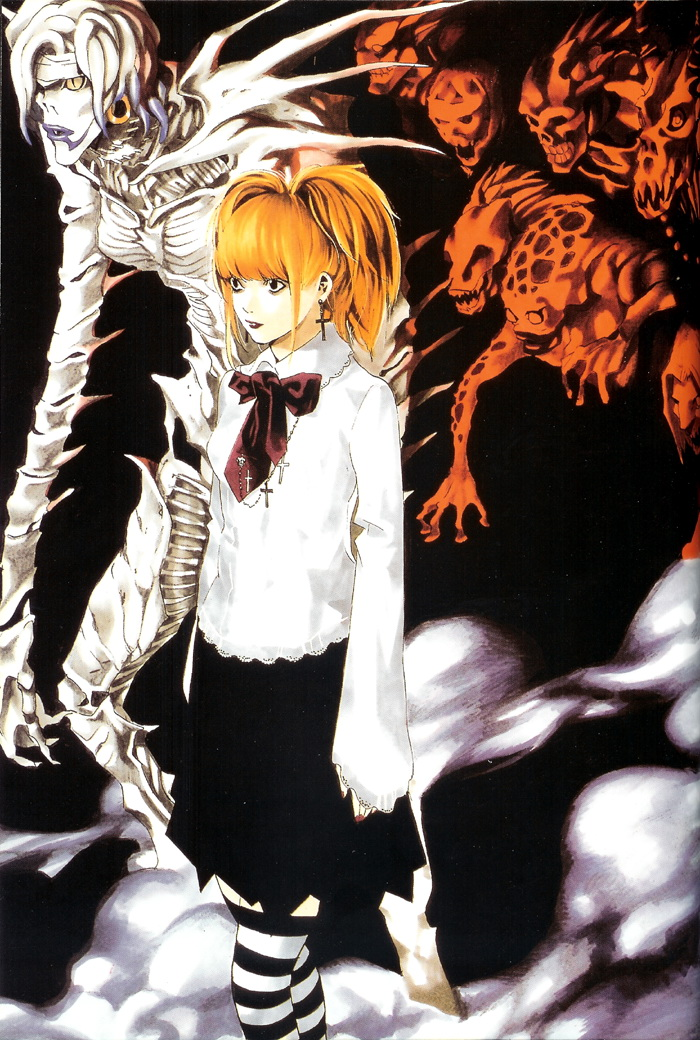 death note misa and rem - photo #11