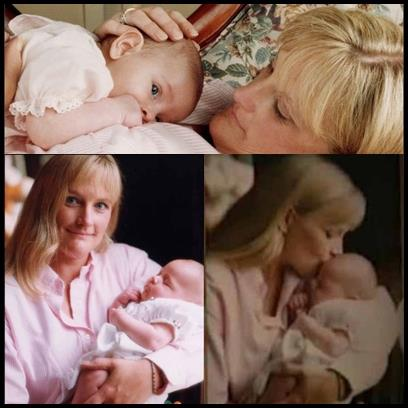 Debbie Rowe & baby Paris