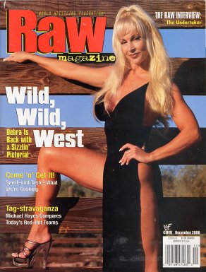 Debra - Raw Magazine December 2000