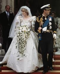 Diana On Her Wedding dag