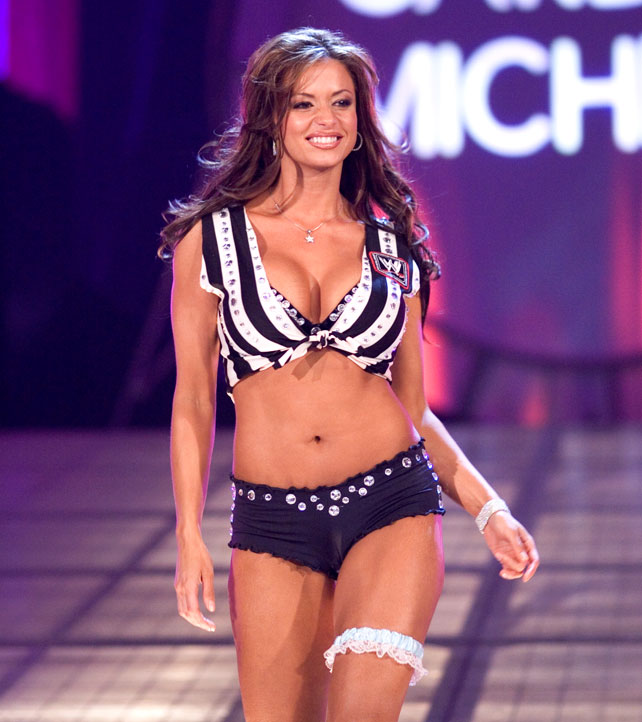 Divas As Referees: Candice Michelle