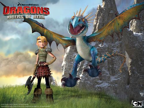 Dragons: Riders of Berk mga wolpeyper