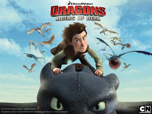 Dragons: Riders of Berk achtergronden
