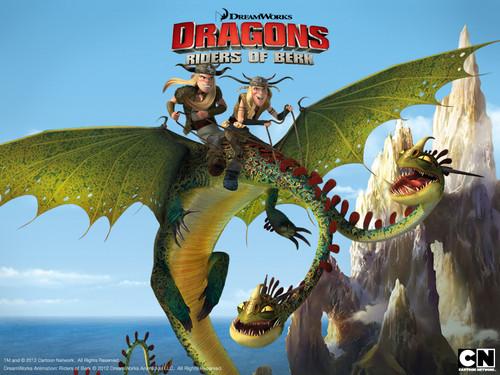 Dragons: Riders of Berk wallpaper