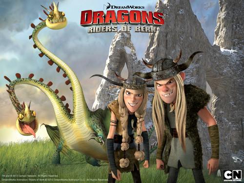 Dragons: Riders of Berk fonds d'écran