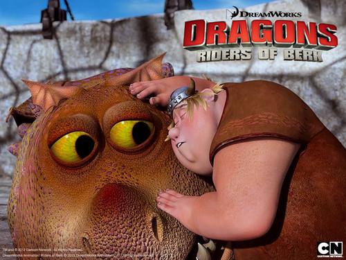 Dragons: Riders of Berk پیپر وال