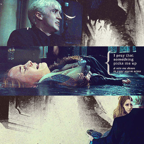 Dramione wallpaper possibly containing a sign and anime titled Dramione