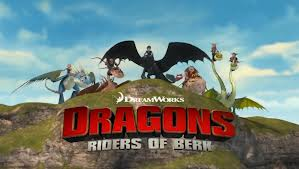 Dreamworks dragoni Riders of Berk picha
