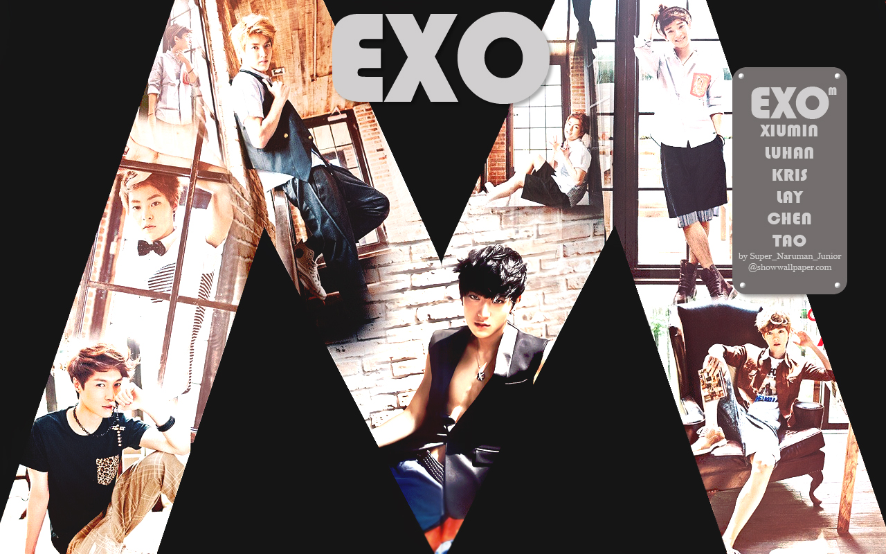 exom exom wallpaper 32392664 fanpop
