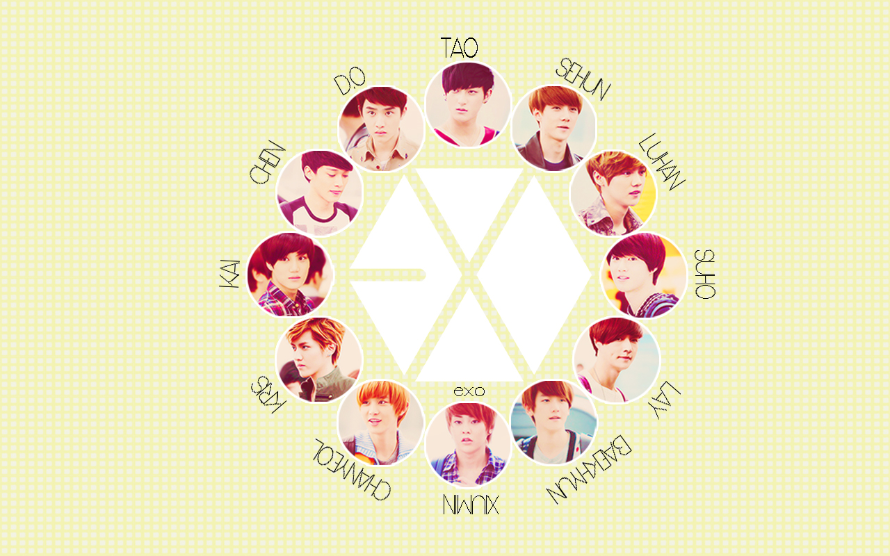 Exo Exo Wallpaper 32392600 Fanpop
