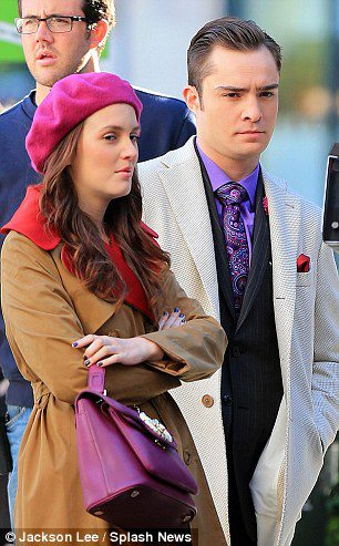 Ed and Leighton on Set / 1st October