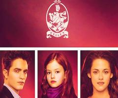 Edward,Bella and Renesmee Cullen in BD 2