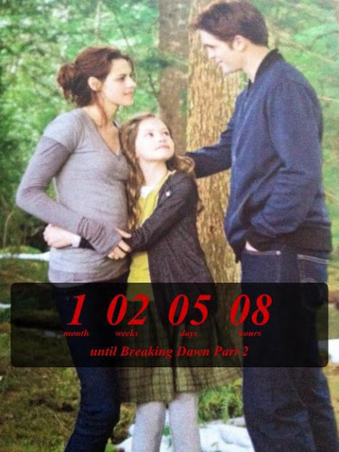 Edward,Bella and Renesmee in BD 2