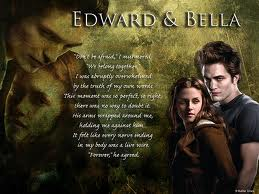 Edward and Bella in Amore