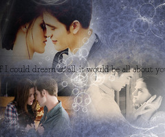 Edward and Bella in प्यार
