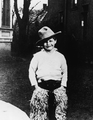 Eight-year-old buckaroo Marlon Brando, 1932